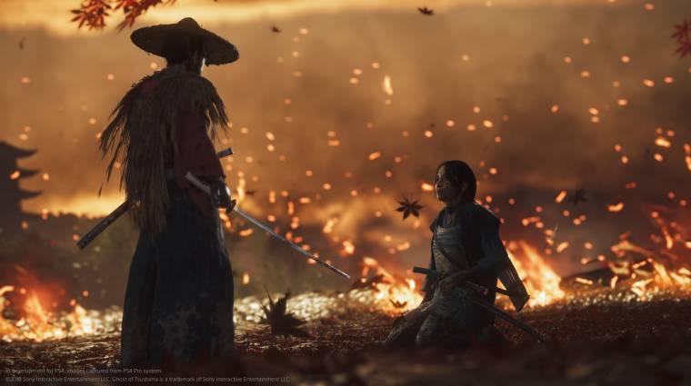 Most csak ízelítőt kaptunk, de hamarosan jön a teljes Ghost of Tsushima trailer bevezetőkép