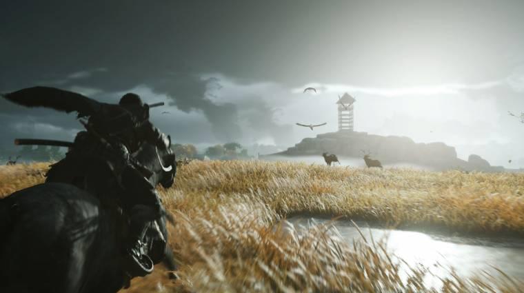 Remekül passzolna a Ghost of Tsushima mellé ez a PlayStation 4 bevezetőkép