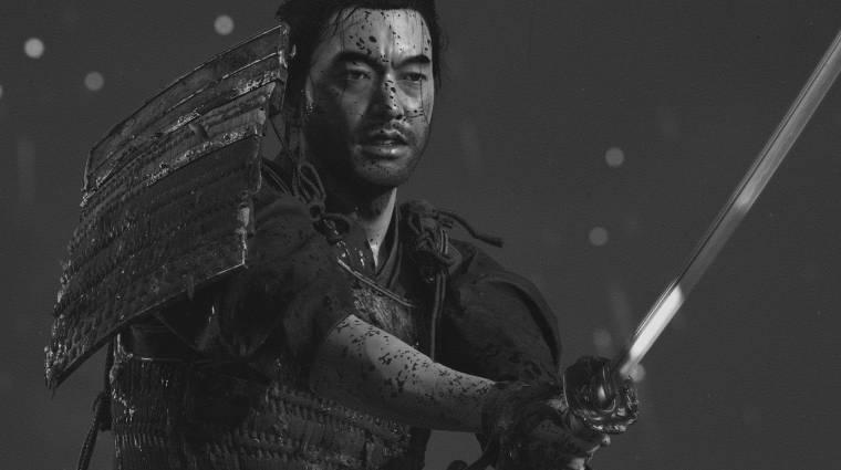 A Ghost of Tsushima fekete-fehér módja megkapta Kurosawa örököseinek áldását bevezetőkép