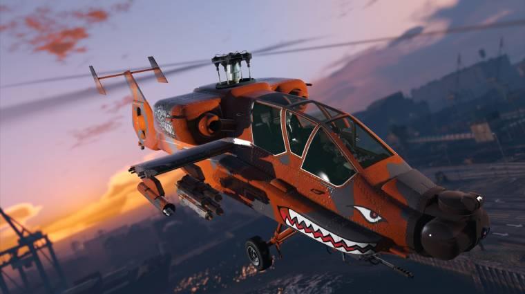 Grand Theft Auto Online - légi harcok, több járműves versenyek jönnek bevezetőkép