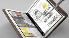 Könyvszerűen összehajtható noteszgépet fejleszt a Microsoft kép