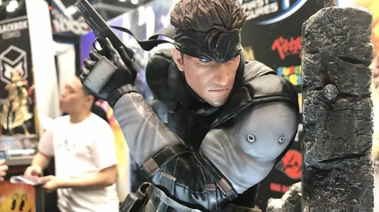 Így néz ki egy 130 000 forintos Metal Gear Solid figura bevezetőkép
