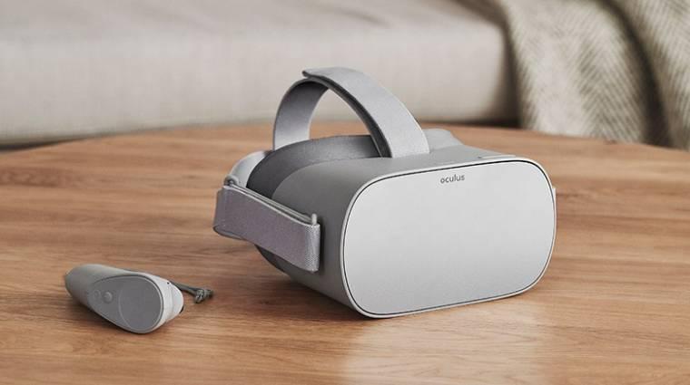 Oculus Go - jövőre jön a vezeték nélküli headset, de már készül a jobb változat bevezetőkép