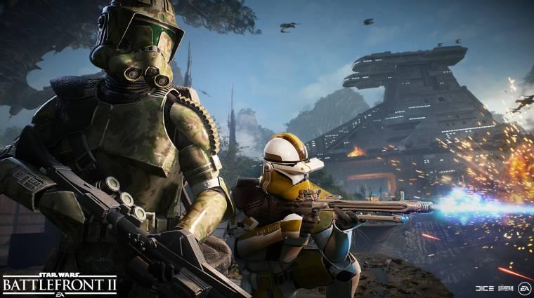 Star Wars Battlefront II - már EA Access előfizetéssel is játszható bevezetőkép