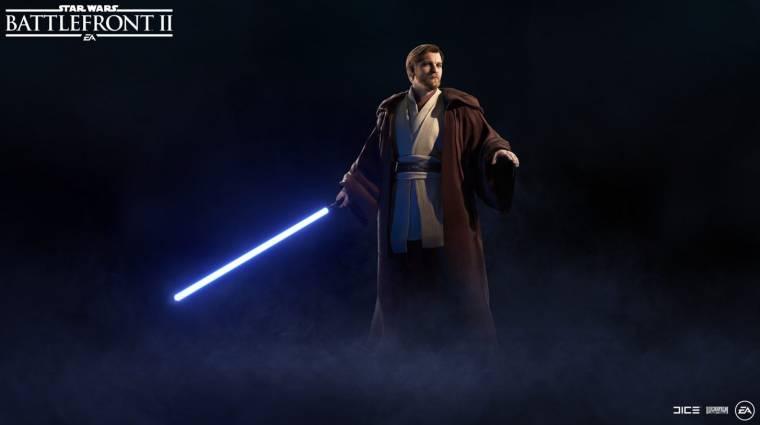 Star Wars Battlefront II - november végén érkezik meg Obi-Wan Kenobi bevezetőkép