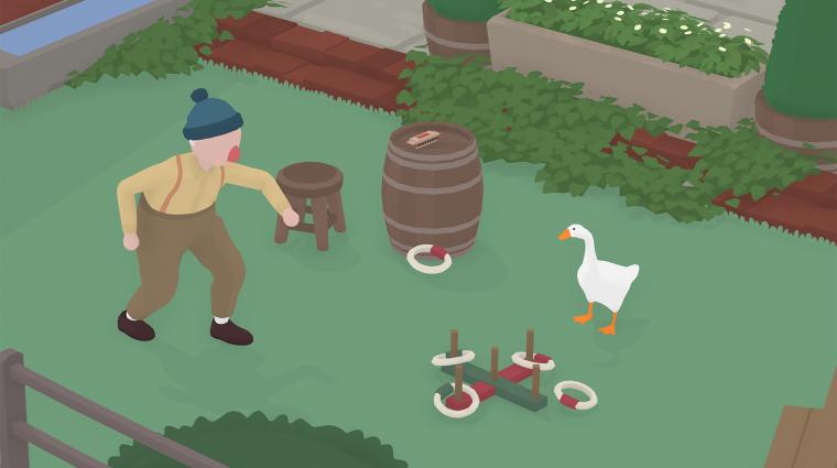 Dátumot kapott az Untitled Goose Game PS4-es változata bevezetőkép