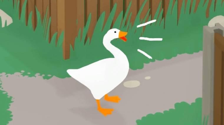 Napi büntetés: így lehet milliószor idegesítőbbé tenni a gágogást az Untitled Goose Game-ben bevezetőkép