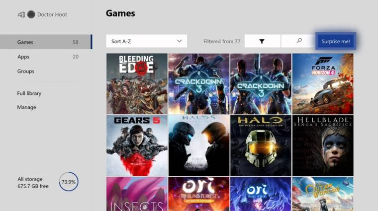 Ismét változik az Xbox felhasználói felülete bevezetőkép