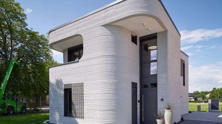 Hazánkban is megjelenhetnek a 3D nyomtatással készült lakóépületek kép