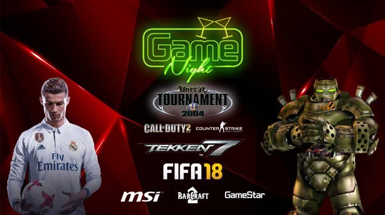 GameNight - ha jó lövő vagy, most igazán megéri eljönni! bevezetőkép