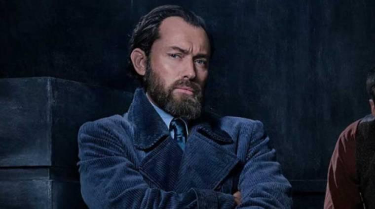 Jude Law mindent megtudott Dumbledore-ról kép