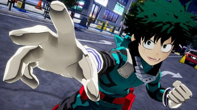 My Hero Academia: One's Justice - ilyen lesz az anime alapján készülő játék bevezetőkép