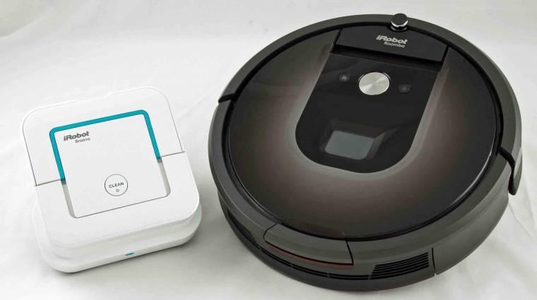 Igazi úriember lett a Roomba robotporszívó kép