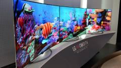 Brutális felbontású tévét villant az LG kép