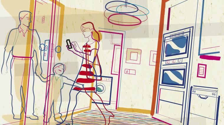 Az intelligens otthonoktól lesz hangos a világ kép