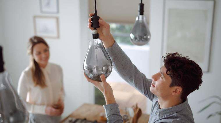 A Philips villanykörtéje akkora, mint a fejed kép
