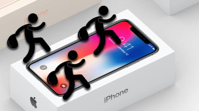 Tele a piac a gyárból lopott iPhone prototípusokkal kép