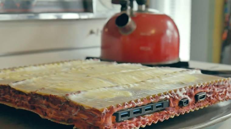 Csak úgy itt hagyjuk ezt a lasagna alakú PC-t, mert nem mehetünk el mellette szó nélkül kép