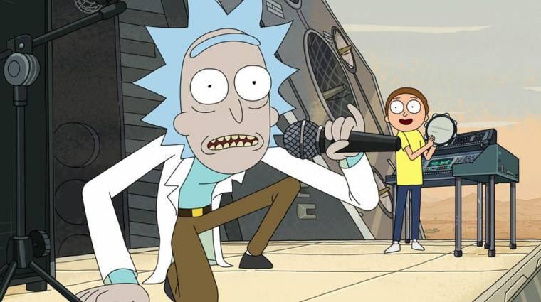 Megvan, mikor kezdődik a Rick & Morty 4. évada bevezetőkép