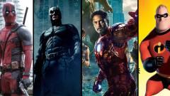 A Rotten Tomatoes szerint ezek minden idők legjobb képregényfilmjei kép
