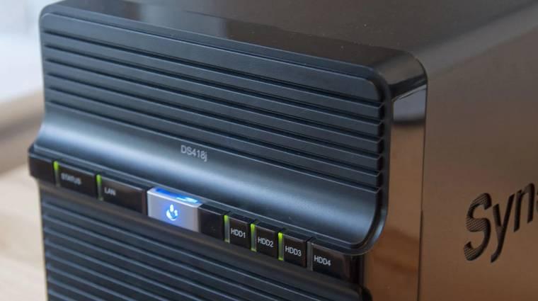 Synology DS418j: szerver-tudású kis doboz otthonra kép