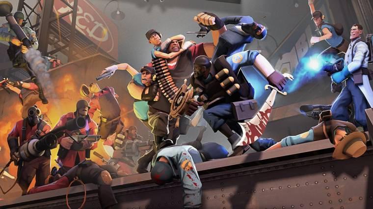 A Team Fortress 2 lehet a legnépszerűbb játék Steamen bevezetőkép