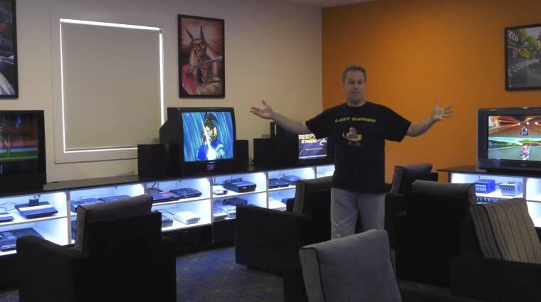 Így néz ki a világrekordot tartó játékgyűjtő játszószobája bevezetőkép