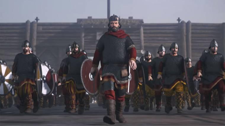 Total War Saga: Thrones of Britannia - bemutatkozik Alfréd király bevezetőkép