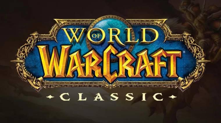 World of Warcraft Classic megjelenés - megvan a dátum, holnap indul a béta bevezetőkép