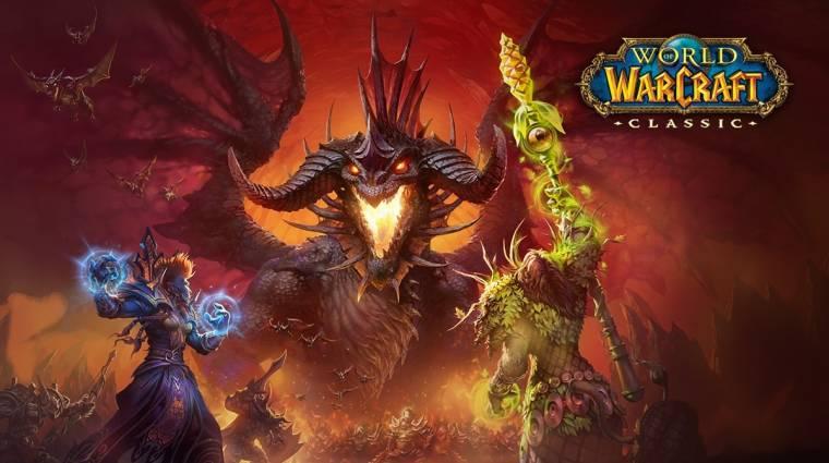 World of Warcraft Classic - még idén elkezdődik a második fázis bevezetőkép