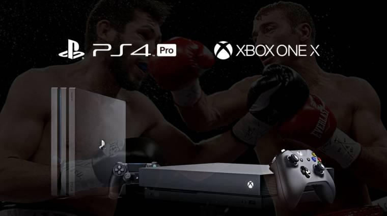 Semmi duma, csak szavazz: Xbox One X vagy PlayStation 4 Pro? kép