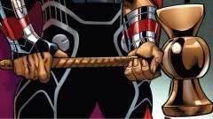 Bosszúállók: Végtelen háború - egy játék fedte fel Thor új fegyverét kép