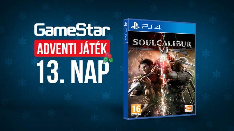 GameStar adventi játék 13. nap - bunyó karácsonyig Geralttal bevezetőkép