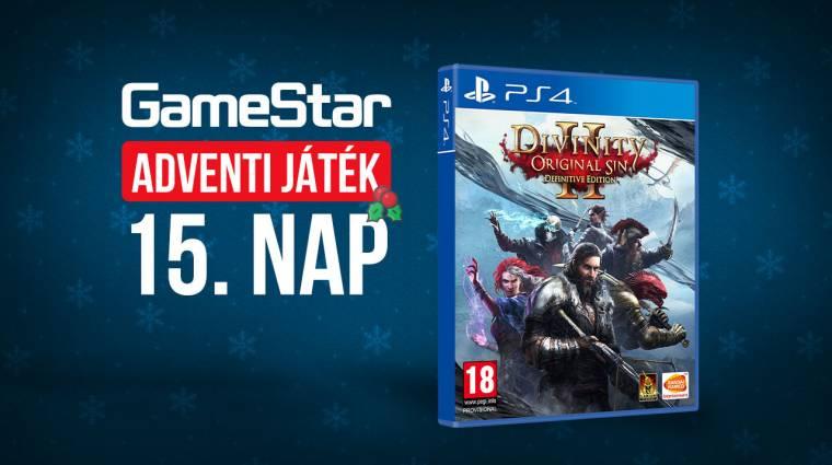 GameStar adventi játék 15. nap - kalandra hívunk! bevezetőkép