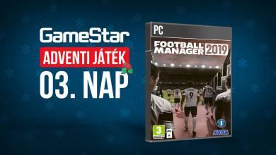 GameStar adventi játék 3. nap - a focit szeretitek?