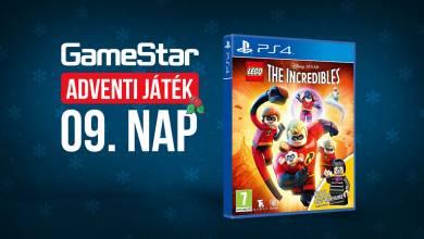 GameStar adventi játék 9. nap - olyan jó, hogy az hihetetlen!