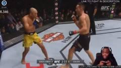 A streamer, aki úgy csinált, mintha kontrollerrel irányította volna a UFC meccset kép