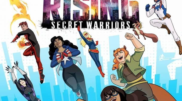 Marvel Rising: Secret Warriors trailer - ifjú hősök akcióban kép