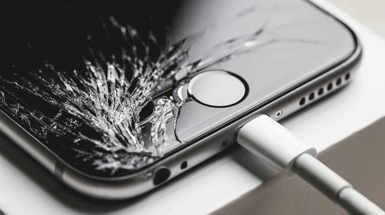 Vége a ripityára tört telefonoknak kép