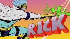Anime stílusú trailerrel hangolódhatunk az új Rick and Morty évadra kép