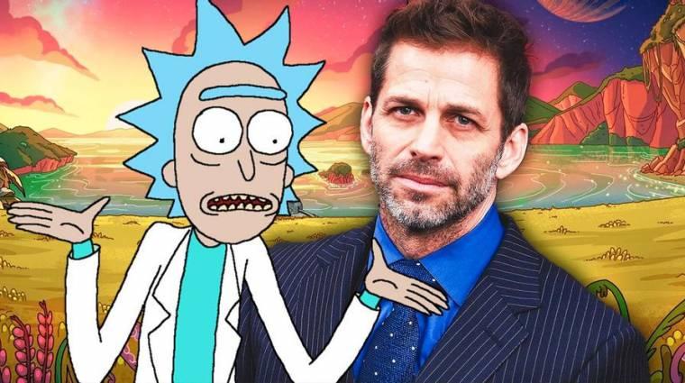 Zack Snyder szívesen rendezne egy Rick és Morty filmet bevezetőkép
