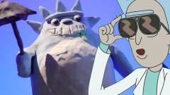 A Studio Ghibli kedvenc macskája egy reklámban szerepelt a Rick és Morty főszereplőivel kép