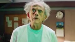 Ilyen lenne az élőszereplős Rick és Morty Christopher Lloyddal kép