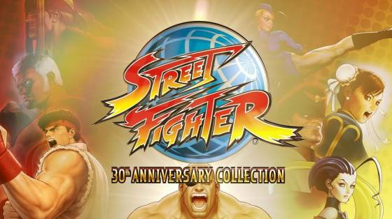 Street Fighter 30th Anniversary Collection infódoboz