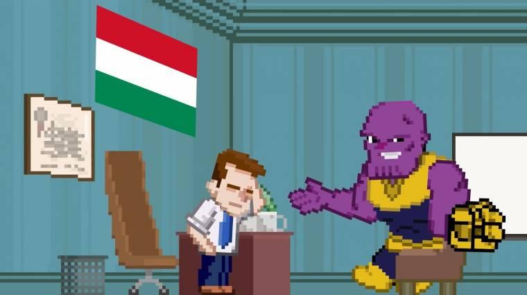 Napi büntetés: ilyen lenne, ha Thanost kioktatná az asszisztense bevezetőkép