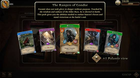 The Lord of the Rings: Living Card Game infódoboz