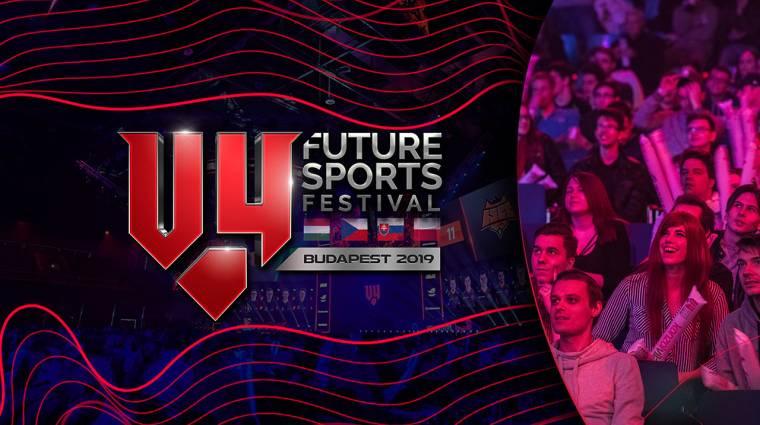 Idén is lesz V4 Future Sports Festival, és te is ingyenesen ott lehetsz! bevezetőkép
