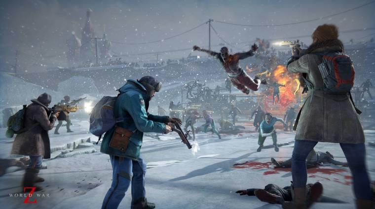 World War Z - természetesen a launch trailer is tele van zombikkal bevezetőkép