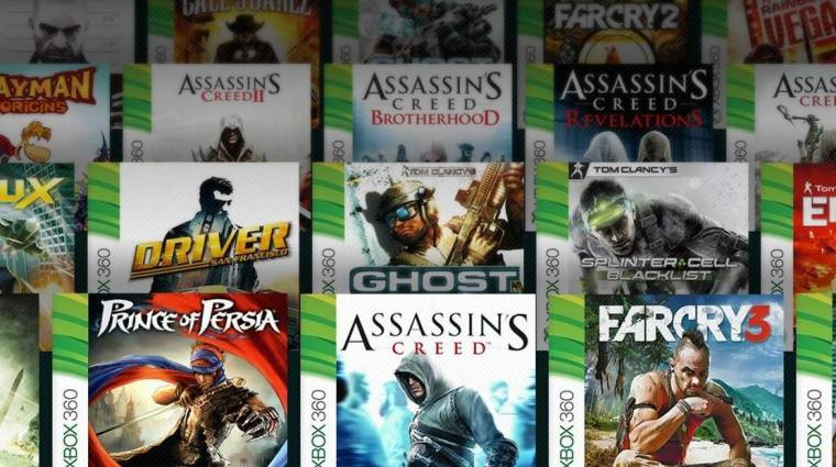 Nagyon szeretünk Xbox One-on régi játékokkal játszani bevezetőkép