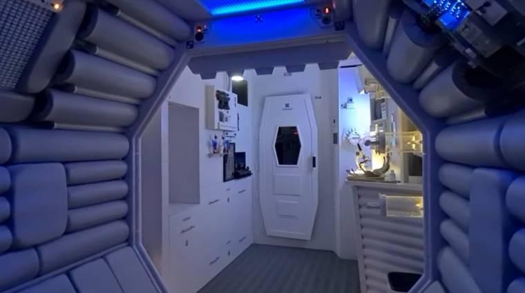Egy Alien rajongó saját lakásából csinált Nostromo űrhajót bevezetőkép